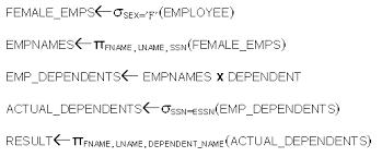 relational algebra symbols t andrew yang csci5333 notes
