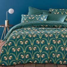 belladone duvet cover in cotton percale