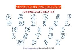 Printable Alphabet Letter Charts In Pdf Letters And