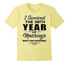 i survived t shirt 38th wedding anniversary gift ideas pl