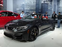 black bmw convertible 2015.  2015 Making Its First Public Appearance In New York The Allnew 2015 BMW M4  Convertible Is Al Fresco Alternative To Equally New Coupe Version That  With Black Bmw 0