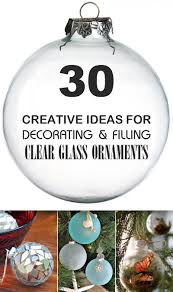 Try these 30 DIY ideas for clear glass ornaments to add precious memories  and lots of