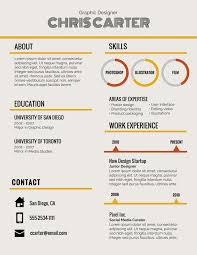 Resume Font Infographic Template Resumes Size Name Reddit Pairings
