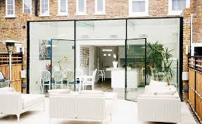 This glass box extension in Notting Hill has made way for an open plan  kitchen diner