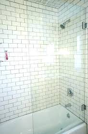 shower half glass wall design with how much does a glas