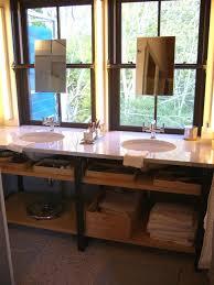 Open Shelf Vanity Bathroom 10 Stylish Bathroom Storage Solutions Hgtv