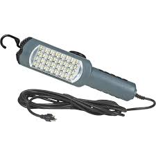 Prolite Electronix Led Trouble Light With Outlet 13a