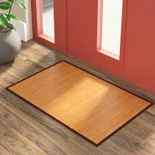 image of bamboo area rug mats