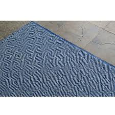 diamonte royal blue outdoor rug 5ft x 8ft