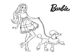 10 Disegni Da Colorare Di Barbie
