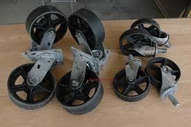 industrial furniture wheels. Antique Caster Wheels 1.jpg Industrial Furniture E