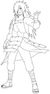 Coloriage De Madara Uchiwa Sur Jeux De Naruto Com