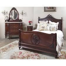 Creativity Antique Bedroom Furniture Vintage French Louis Xvi Walnut Set Online Store And Models Design