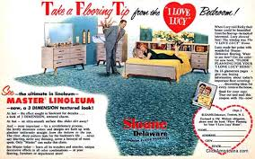 1953 I Love Lucy Master Lineoleum Ad
