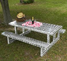 Table With Drink Trough Plan Picnic Table Bench Kit Favorites Table Picnic Table Drink Trough