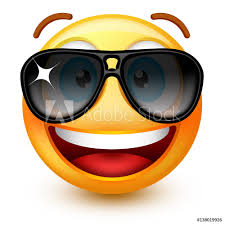 Fotografie Obraz Cute Smiley Face Emoticon Or 3d Smiley Emoji With