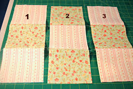 How to Make a Nine Patch Quilt Block & After sewing and ironing your seams, you should end up with something like  this! Nine patch quilt ... Adamdwight.com
