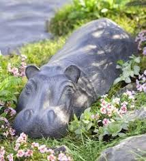 garden animal statues. Delighful Statues Swimming Hippo Garden Sculpture In Statues And Animal Z