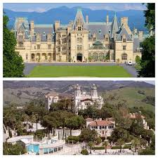 poll biltmore estate vs hearst castle