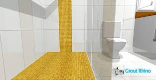 tampa bathroom grout sealer shower floor tile