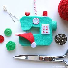 Christmas Decorations To Make With Sewing Machine