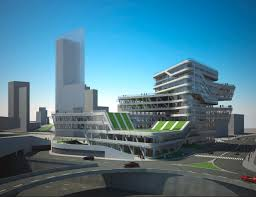 Today at 11.00 AM took place the laying of the foundation stone of what  will be the new iconic building in the area of Barcelona's Forum, the  Spiral Tower.
