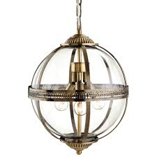 clear glass globe pendant light. Traditional Bronze Clear Glass Globe Pendant Light G