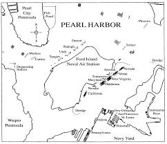 pearl harbor north carolina digital history map of pearl harbor