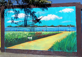 the use of multi coloured and vibrant paints on walls is enhancing the beauty of the city even more share the post if you support this innovative idea