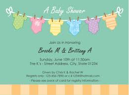 Baby Shower Invitations Templates Free Invitation For Baby Shower Brilliant Baby Shower Invitation 15