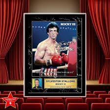 Sylvester Stallone - Rocky 3 - Celebrity Memorabilia
