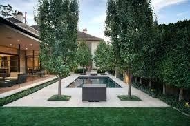 Modern Backyard Design Property Simple Decoration