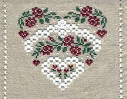 Isabelle Vautier Free Charts Daisy Roses Hardanger Rv97 Isabelle Haccourt Vautier Embroidery Chart