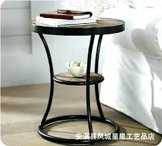 wrought iron side table. Side Tables: Small Wrought Iron Table Black Coffee Pertaining To Decoration Horn Creative With R