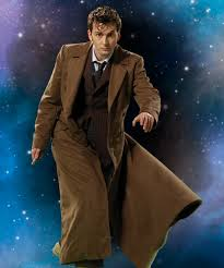 Image result for the 10th doctor in trench coat