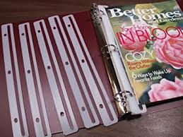 Magazine Binder Holders Amazon Magazine HoldersProtectors for 100Ring Binders 100 2