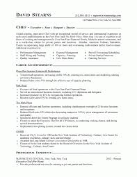 Resume Resume Sample For Cook Job