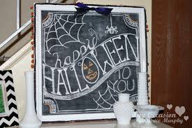 happy to you fall chalkboard idea