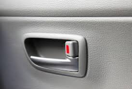 the simple function of a car door lock