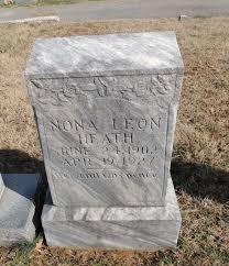 Nona Leon Meece Heath (1903-1927) - Find A Grave Memorial