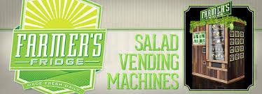 Vending Machine Los Angeles Unique Farmer's Fridge Bringing Salad Vending Machines To Los Angeles And