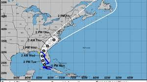 Tropical storm warning issued for Tampa ...