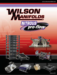 For Nearly 30 Years Wilson Manifolds Has Consistently Helped