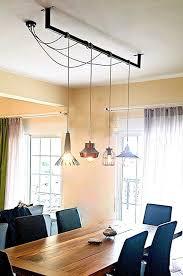 CUSTOM Cables Bar Pendant Light Dining Industrial Bulbs Lamps Custom Kitchen And Dining Room Lighting Ideas Minimalist