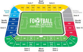 Uk Football Stadium Seating Chart Madejski Stadium Guide Reading F C Football Tripper