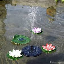 fountain water floating small pond garden patio decoration watering pool automatical for fountains waterfalls solar fountain fountain water pump with