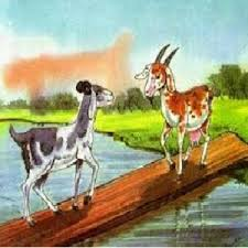 two goats over a bridge short story in english for kids