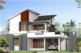 feet floor plan elevation indian house plans