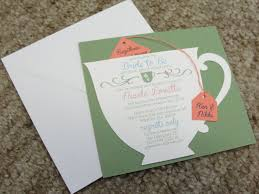 Kitchen Tea Invites Tea Bag Invitation Etsy