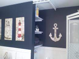 Pin By Mary Schaefer On Decors Nautical Bathroom Decor Nautical Theme Bathroom Boys Bathroom Decor